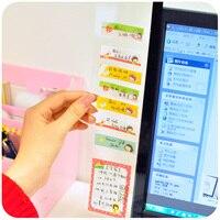 Creastive Cute Monitor Memo Board Screen Display Message Board Transparent Memo Note Clips Photo Holders