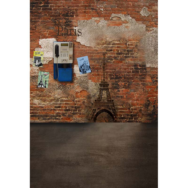 picture on the brick wall photography background vinyl backdrops for film photo studio photographic background CM-5663 2015 new 2mx3m warning sign on the beach digital backdrops muslin vinyl photography background
