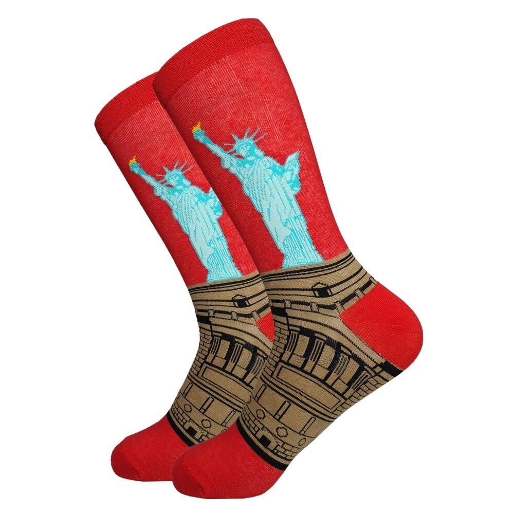 2019 Direct Selling Rushed Standard Baumwolle männer Casual Kostenloser Hohe Qualität Lieferung Socken, lustige Kleidung Socken (6 Pairs/Multi)