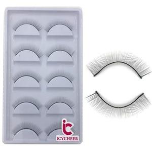 Image 4 - ICYCHEER Training Lashes for Eyelash Extensions Supplies Makeup Practice False Eyelashes