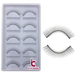 Image 4 - Тренировочные ресницы ICYCHEER для наращивания ресниц, принадлежности для практики макияжа, накладные ресницы