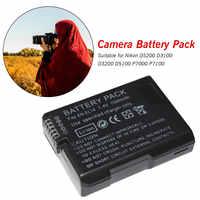 7.4V 1500mAh Rechargeable Digital Camera EN-EL14 ENEL14 EN EL14 Battery Pack For Nikon D5200 D3100 D3200 D5100 P7000 P7100 MH-24
