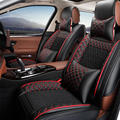 Cuero del asiento de coche especial cubre Para Hyundai IX25 IX35 Sonata Santa Fe Tucson Acento ELANTRA Verna I30 accesorios car styling