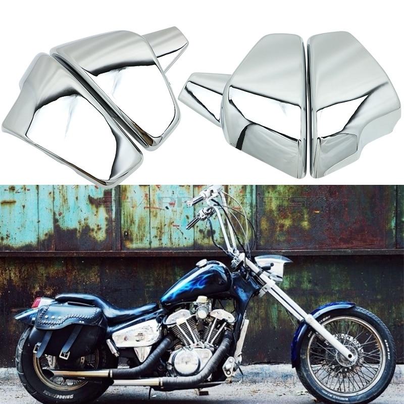 Motorcycle Side Battery Fairing Cover For Honda VT600 VT 600 C CD Shadow VLX Deluxe 1999