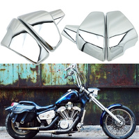 Motorcycle Side Battery Fairing Cover For Honda VT600 VT 600 C CD Shadow VLX Deluxe 1999 2007 STEED VLX600 VLX 600 1999 2008