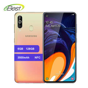 Samsung Galaxy A60 Smartphones 6.3 inch FHD+ Snapdragon 675 Octa Core 6GB 128GB Android 9.0 Triple-rear camera NFC Mobile Phone