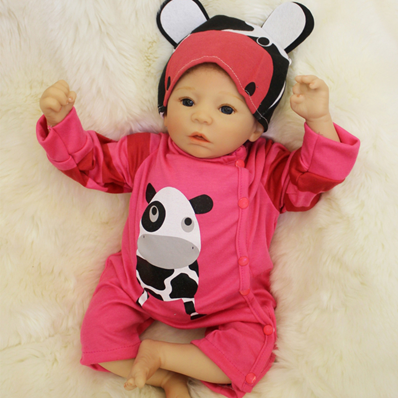50cm Soft Silicone Reborn Baby Girl Dolls Toy For Sale Cheap 20inch Vinyl Newborn Alive Babies Dolls Like Real Child Play House 20inch newborn soft vinyl reborn baby dolls baby dolls hair hand painted baby dolls toy girl 0handmade 50cm