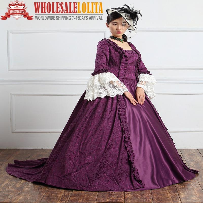 1890s Victorian Corset Gothic/Civil War Southern Belle Ball Gown Dress/Marie Antoinette Dresses/Marie Antoinette gowns