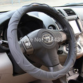 High quality Car Steering Wheel Cover With Needles and Thread Artificial leather car Handlebar Grip