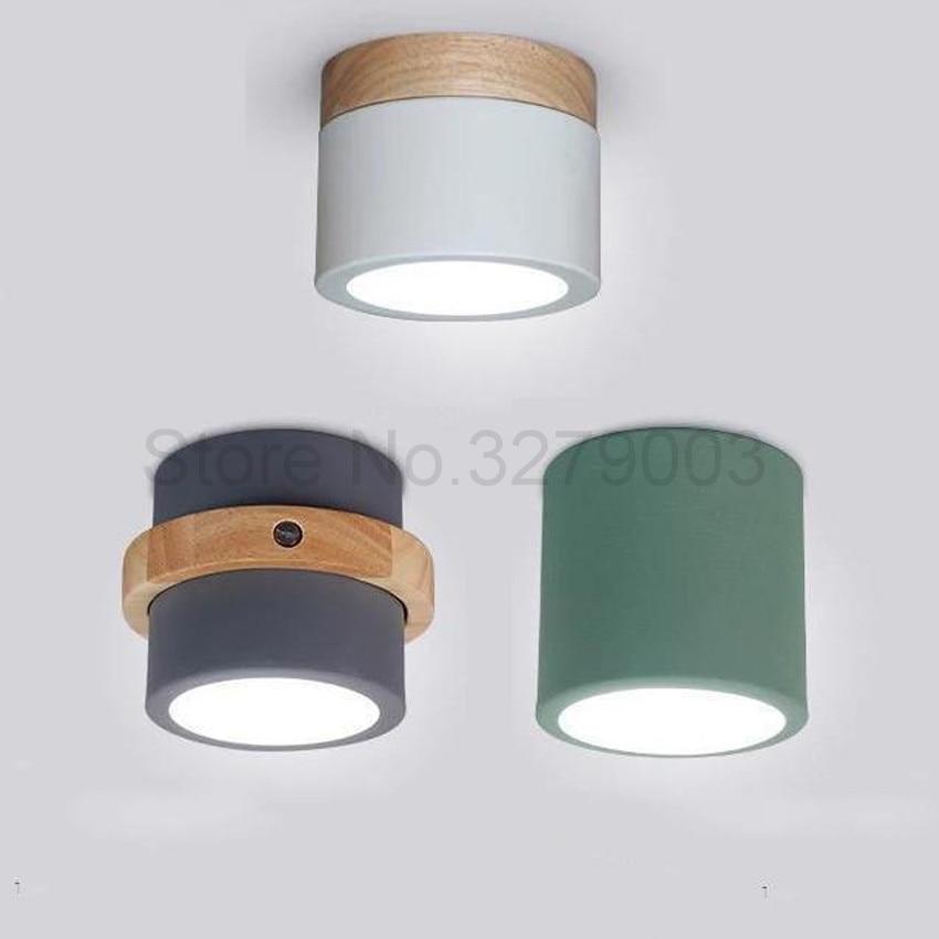 Nordic Light Iron Lampbody Corridor