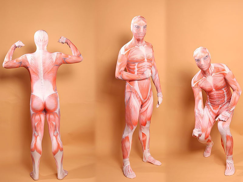 Attack On Titan Cosplay Muscle Suit Cosplay Colossal Tights Muscle