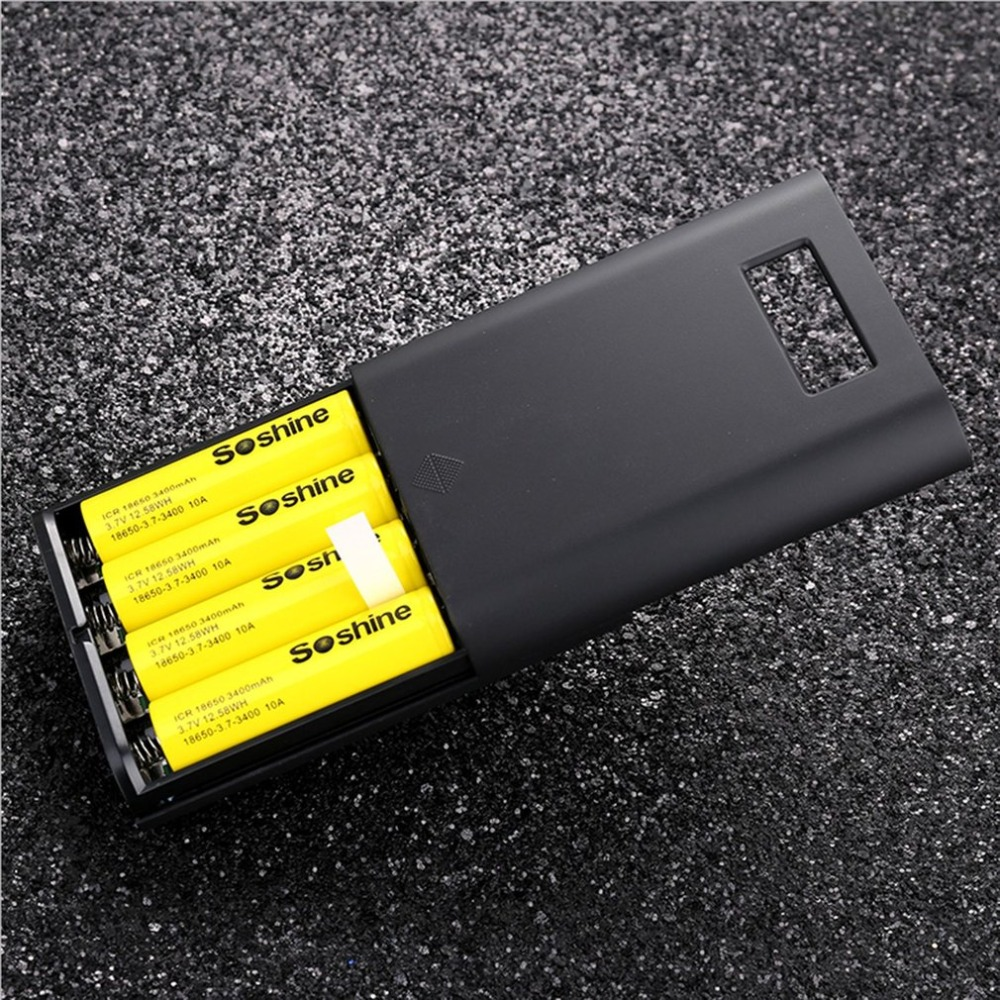 E3S-QC 2-in-1 Portable Power Source power bank Quick Charger for iPhone for Samsung MP3 Mobile Phone  Drop shipping Outdoor