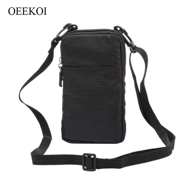 Oeekoi Multi-Fungsi Klip Sabuk Olahraga Tas Kantong untuk Huawei Honor 8A/10 GT/10i/ tersedia 20 Program/Bermain 8A/V20/8 Bermain/10 Lite/Magic 2