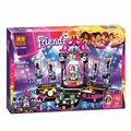 New BELA Friends Pop Star Stage Building Blocks Set 448Pcs Assemble Toys Compatible Legoelieds Friend For Girls Lepin Toys Gift