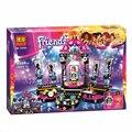 Nueva BELA Amigos Pop Estrella Etapa Ensamblar Juguetes Bloques de Construcción Establece 448 Unids Compatible Lepin Legoelieds Amigo Para Niñas Juguetes regalo