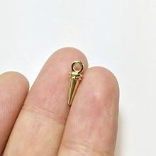 Eruifa 20 шт 9*4 мм цинковый сплав заклепки падение ожерелья оптом, серьги браслет ювелирные изделия DIY ручной работы 2 цвета