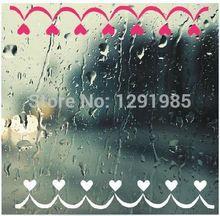 love line window glass decorative pattern wall vinyl sticker custom made home decoration fashion wedding decoration Poster
