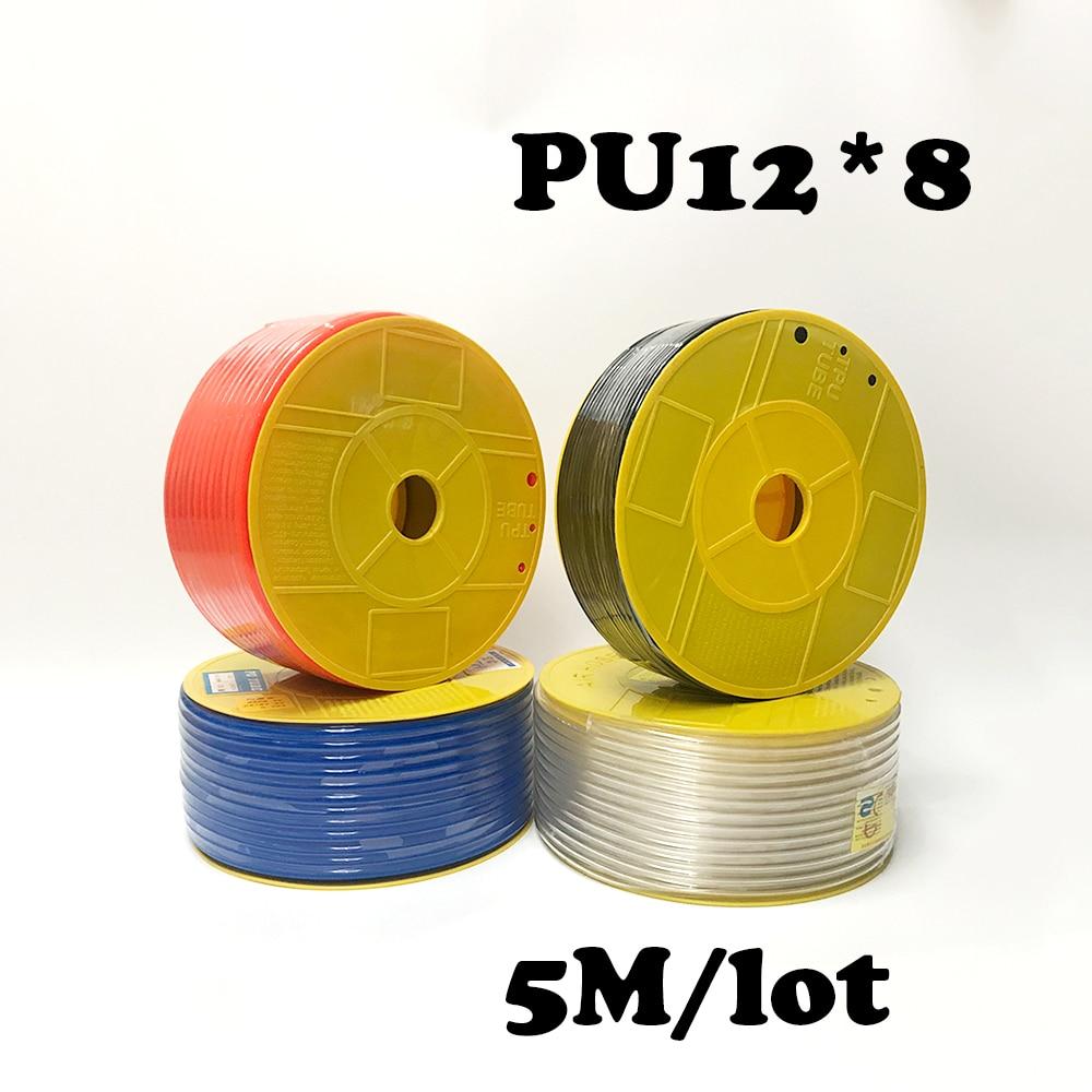 PU12*8  5M/lot Free shipping PU Pipe 12*8mm for air & water  Pneumatic parts pneumatic hose ID 8mm OD 12mmPU12*8  5M/lot Free shipping PU Pipe 12*8mm for air & water  Pneumatic parts pneumatic hose ID 8mm OD 12mm