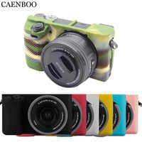 CAENBOO Kamera Taschen Fällen Weiche Flexible Silikon Abdeckung Für Sony Alpha A6000 ILCE-6000 Gummi Schutzhülle Körper Abdeckung Gehäuse 16- 50