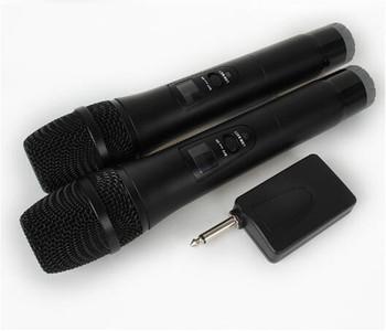 2 Karaoke mikrofon bezprzewodowy 1 odbiornik mikrofon mikrofon KTV odtwarzacz Karaoke Echo System cyfrowy dźwięk mikser Audio śpiewanie maszyna E8 tanie i dobre opinie REDAMIGO CN (pochodzenie) MICE8