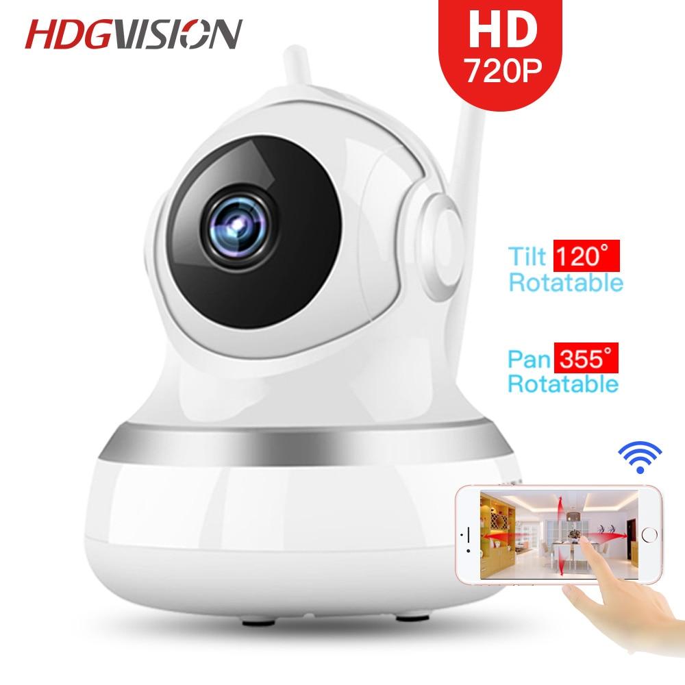 Hdgvision 720P Smart Wifi Ip Camera Wifi CCTV Surveillance Wireless IR-Cut Night Vision Smart Wifi Ip Camera