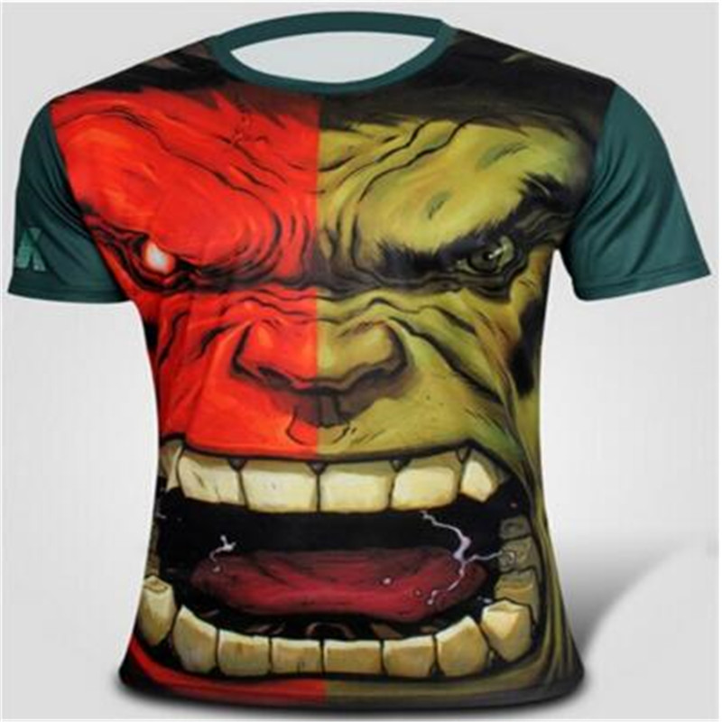 chivalry The original green giant short sleeve T shirt Summer wear han edition T shirt leisure