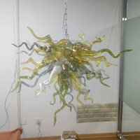 New Style Hot Sales Murano Glass Chandelier for Kitchen America Foyer Pendant Lamp Fixtures
