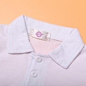 Image 5 - 3 adet güz çocuk beyefendi takım elbise ceket + beyaz uzun kollu T shirt + kot giyim seti için 3 4 5 6 7 8 yıl çocuk boys kıyafetler