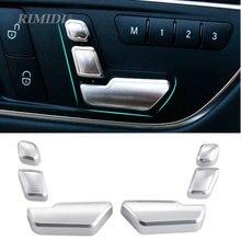 Cubierta cromada para interruptor de botón, para Mercedes Benz W204 W205 W212 W218 X204 X166 C E GLK GL ML Class GL450