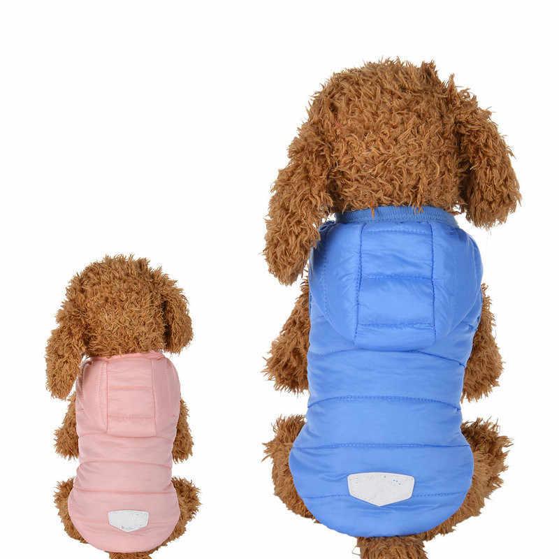 Inverno Pet Vestiti Del Cane Vestiti Caldi Imbottiture Giacca Impermeabile Cappotto Felpe per Chihuahua Cani di Piccola Taglia Media Cucciolo best Vendita XS-L