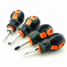 Двойное использование Phillips хвостовик ручные инструменты отвертка мини ремонт короткая ручка шлицевая съемная