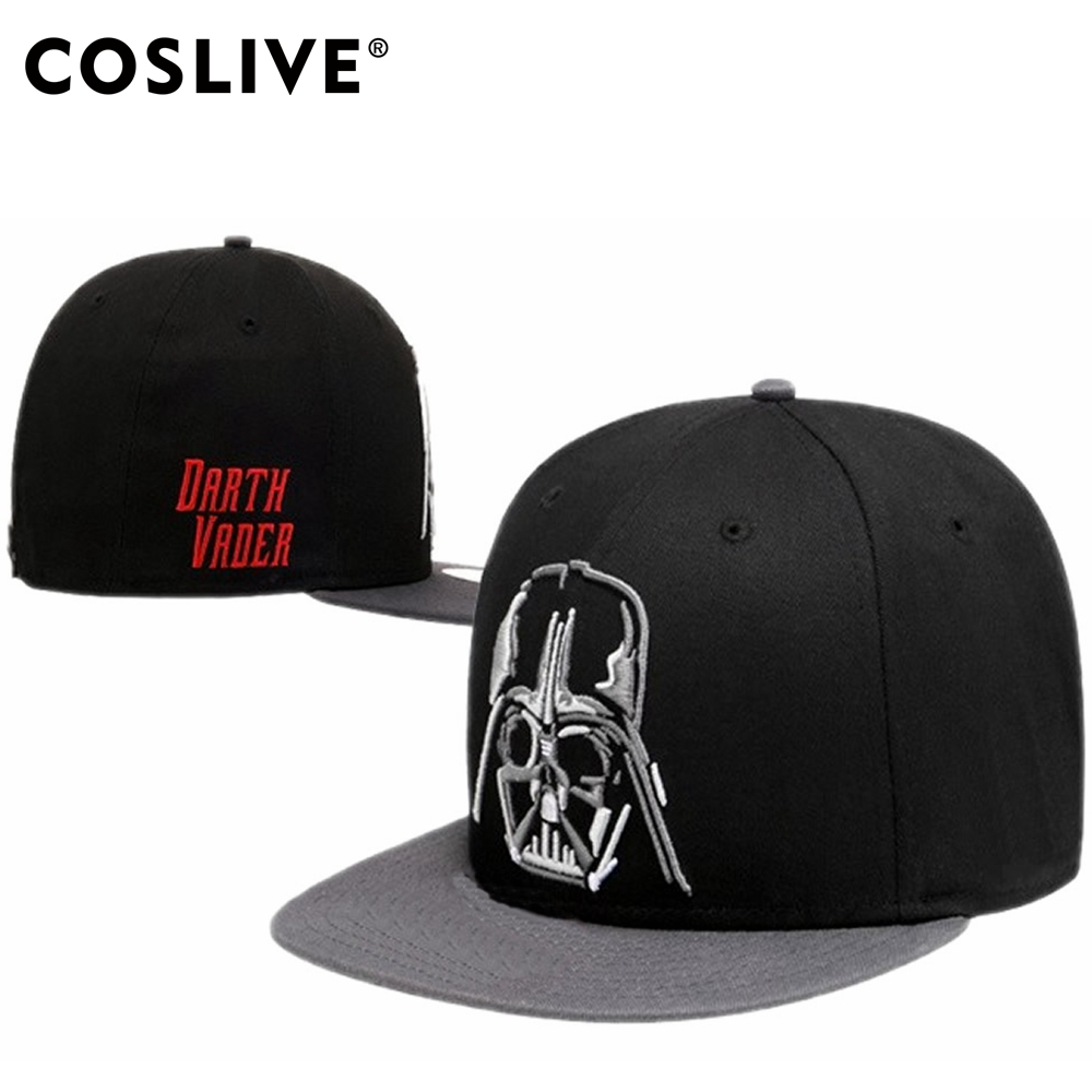sale retailer 8a39e bbab7 Coslive Hot Sale Star Wars Hat Star Wars Darth Vader And Stormtrooper  Cosplay Baseball Hats BBoy Cap For Unisex-in Boys Costume Accessories from  Novelty ...