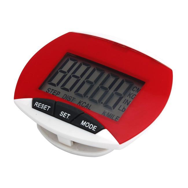 Waterproof Digital LCD Step Pedometer Walk Distance Calorie Counter Run Fitness