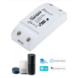 Image 2 - 10 pcs sonoff 기본 무선 wifi 스위치 스마트 홈 자동화 릴레이 모듈 원격 컨트롤러 10a 90 250 v ios 안 드 로이드에 대 한