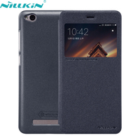 For Xiaomi Redmi 4A Cover 5 0 Snapdragon 425 Leather Case NILLKIN Hard PC Frosted Back