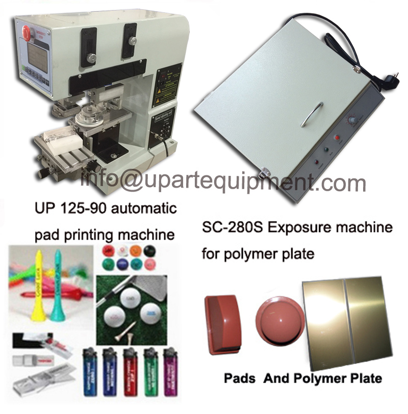 second hand pad printing machine/ pad printer with close ink cup
