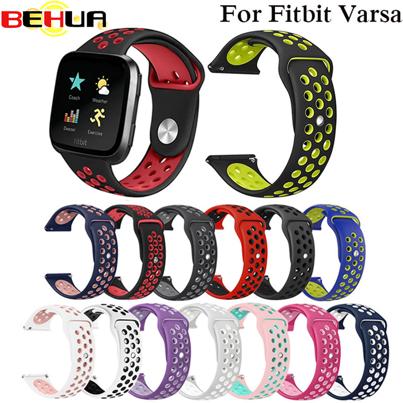 Colorful Silicone Watchband Wrist Band Strap For Fitbit Versa Smart Watch Replacement Bracelet Strap Belt For Fitbit Versa