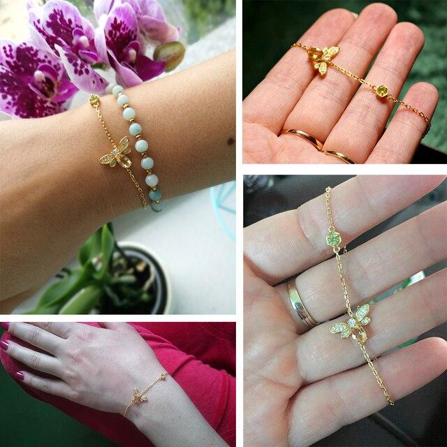 Bracelet Citrine Femme