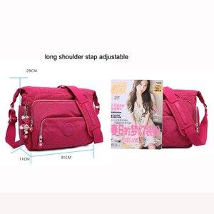 Image 5 - TEGAOTE Messenger Bags Women Crossbody Shoulder Bag Lady Bolsa Feminina Mujer Large Solid Beach Travel Bag Female Zipper 2020