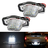2Pcs Car LED License Plate LED Light Lamp For 99 14 Honda Accord CRV Acura MDX