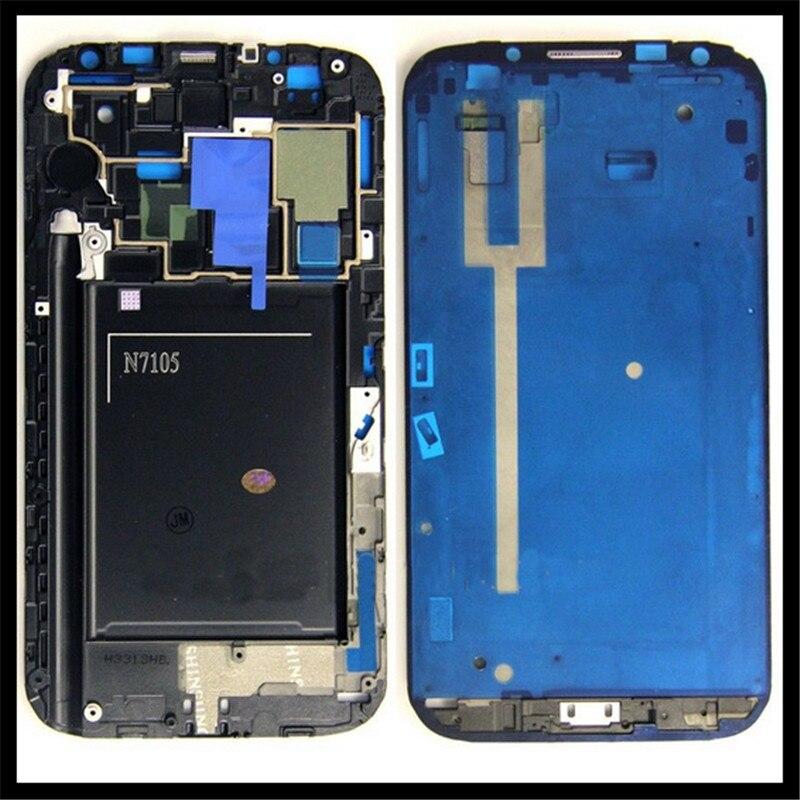 Carcasa frontal LCD placa medio Marcos bisel piezas de repuesto para  Samsung Galaxy note II 2 n7105 venta entera de la alta calidad c4abfa93f4