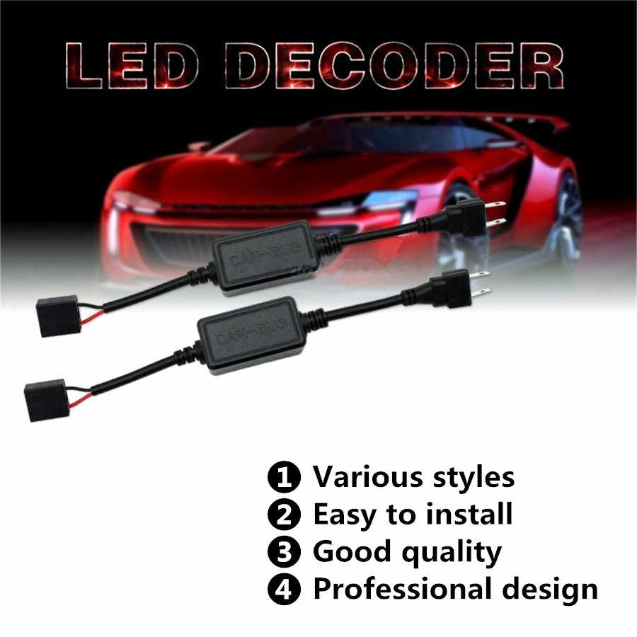 Inlong Error Free Canbus Decorder For H11 LED Headlight For Car SUV Led Car Bulb Fog Lamps Can-Bus H1 H4 H7 9005 9006 D1S D2S