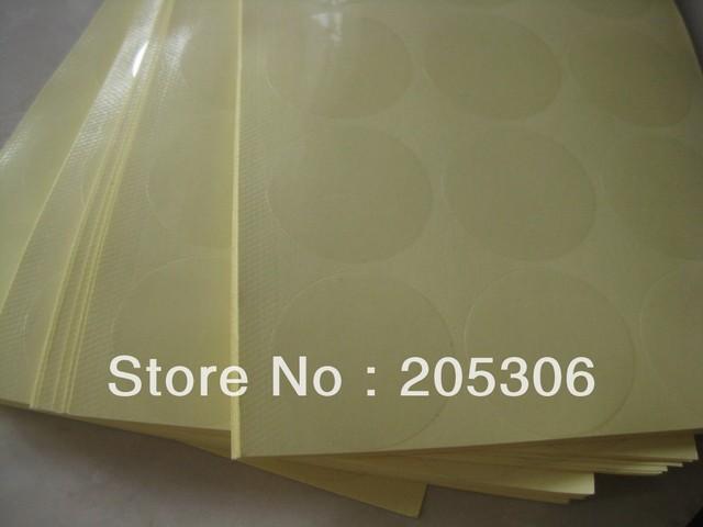 6000pcs/lot Diameter 30mm Self-adhesive sealing sticker transparent PVC, Item No.GU16