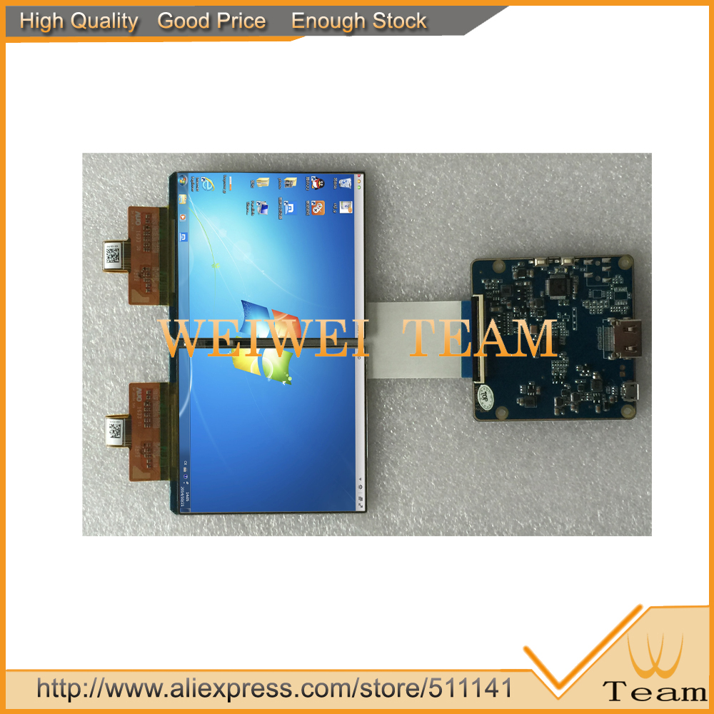 DIY VR/AR Screen with 90hz dual 3.81 inch 1080p oled display with hdmi to mipi board for projector/HMD /vr glass/VR Headset