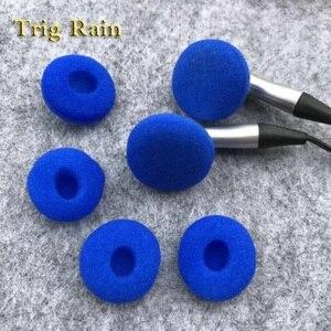 Image 4 - 20 stücke ohr pads für kopfhörer Schaum 18mm Schwamm Bluetooth Kopfhörer Ersatz kopfhörer Ohrpolster Abdeckungen MP3 MP4 Moblie Telefon