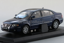 Blue 1:18 Volkswagen VW Passat 2007 Diecast Model Car Classical Sedan  Collection