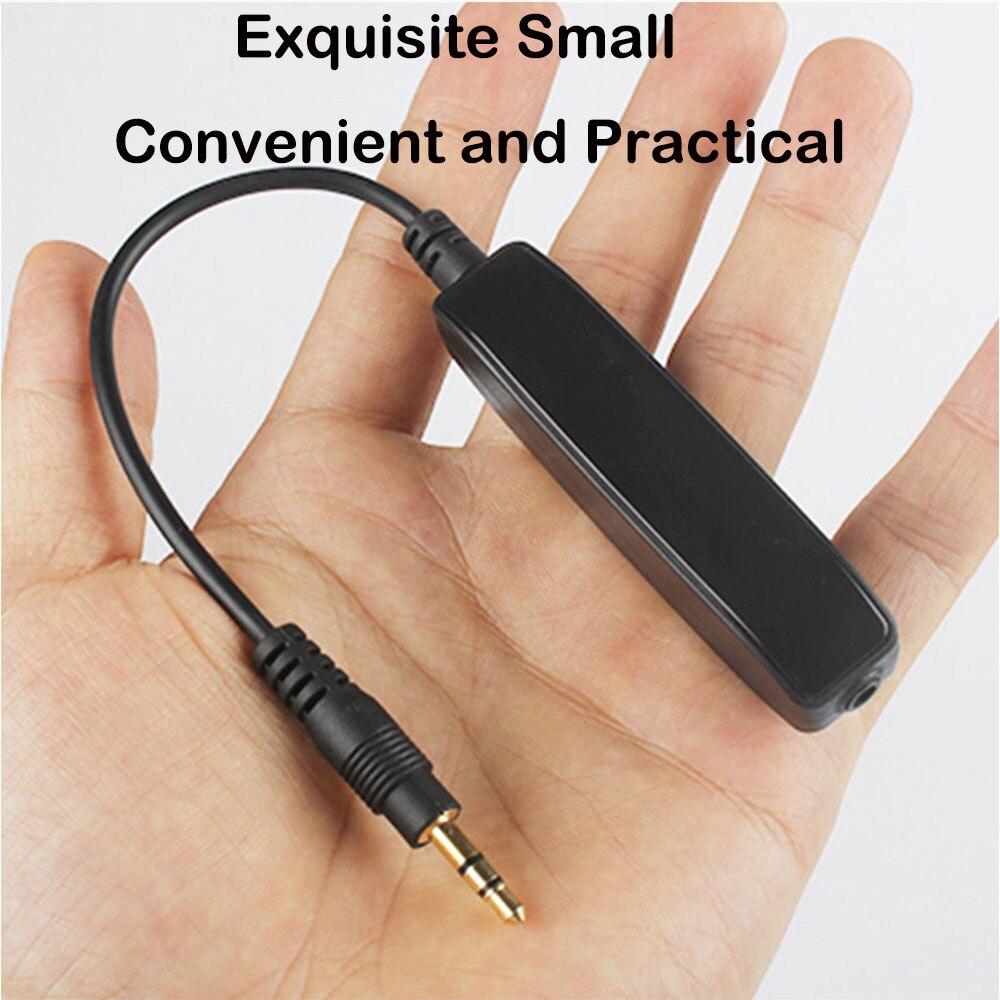 3.5 mm AUX Səs Səs Səs Filtri Audio Anti-Jammer Torpaq Döngəsi - Avtomobil elektronikası - Fotoqrafiya 4