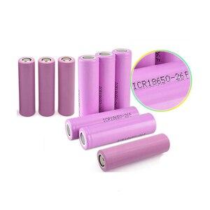 GTF 3, 7 V 2600mAh оригинальный 18650 литий-ионный аккумулятор для ICR18650-26F батарей для электронных сигарет