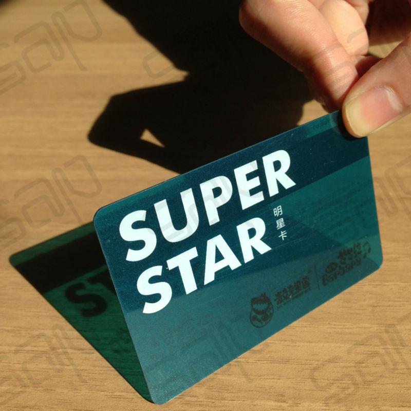 First Class Transparent Business Card clear vinyl id pvc card (SAP ...