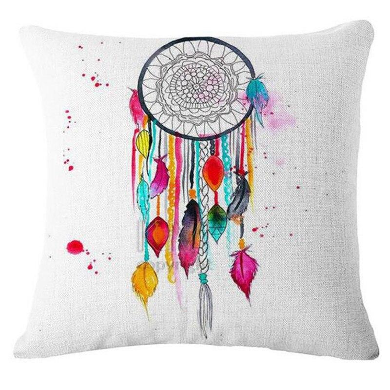 sofa decorative cushions Dream Catcher Cotton Linen